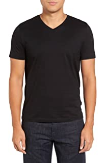 7bd06fd84 Amazon.com: Hugo Boss Men's Trace Slim Fit V-Neck T-Shirt: Clothing