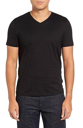 2ecfa0216 Amazon.com: Hugo Boss Men's Tilson Short Sleeve V-Neck T-Shirt: Clothing