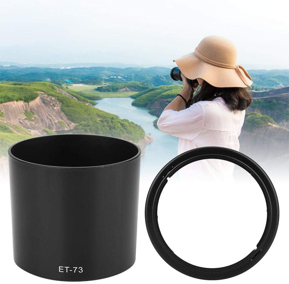 Pomya Camera Lens Hood for Canon,ET-73 Camera Mount Lens Hood for Canon EF 100mm f 2.8L Macro is USM Lens,Lens Hood
