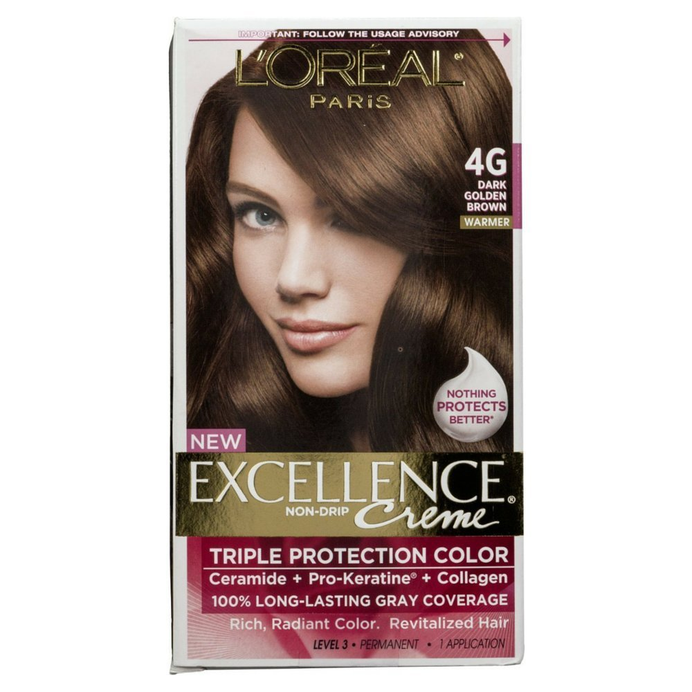 Amazon Loreal Paris Excellence Creme Hair Color Dark Golden