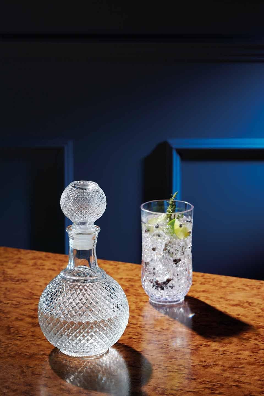 Kitchencraft Bar Craft decantador de Whisky Botella de Vidrio Tallado, Claro, 1 L: Amazon.es: Hogar