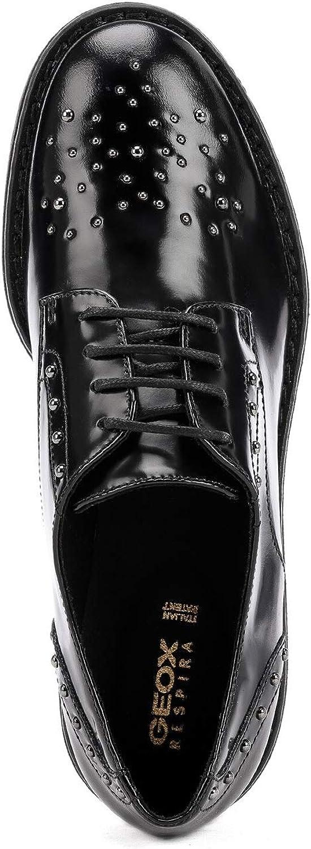 Geox D949TA 00038 Chassures Elegant Femmes Noir