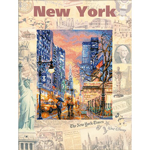 RIOLIS RPT-0025 Cities of The World New York Counted Cross S