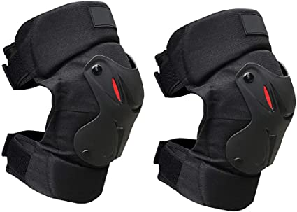 Motorcycle Knee Brace Support Breathable Cycling Protective Knee Pads Free Size