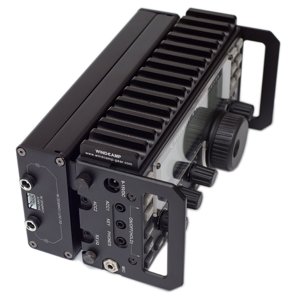 WINDCAMP X3 18650 LI-ION BATTERY BOX FOR ELECRAFT KX3 TRANSCEIVER HAM Black+BAG by Windcamp (Image #3)