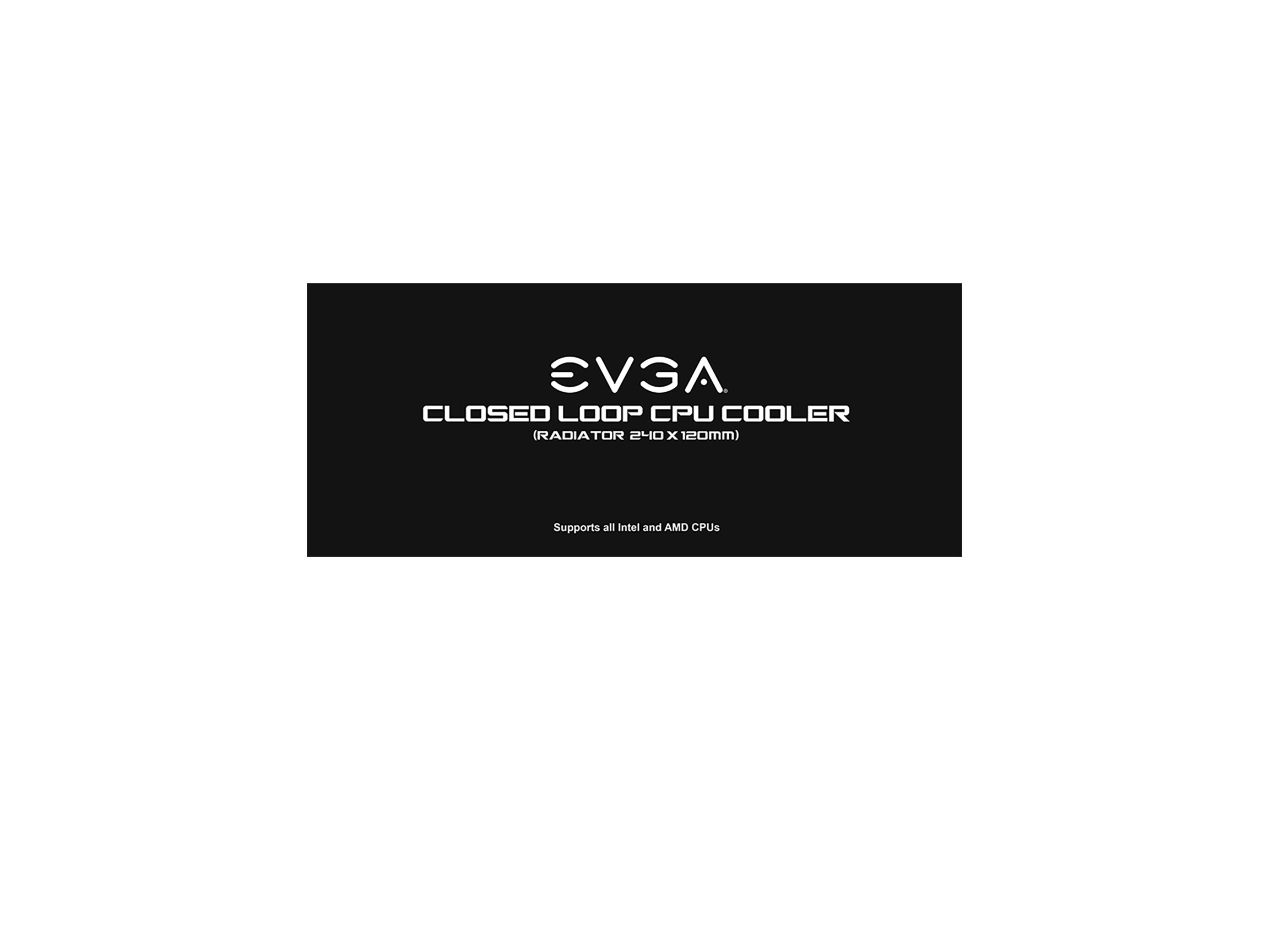 EVGA CLC 240 Liquid/Water CPU Cooler, RGB LED Cooling 400-HY-CL24-V1 by EVGA (Image #8)