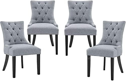 Upholstered Fabric Dining Chair