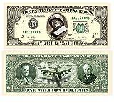 Set of 10 Bills-World War II Million Dollar Bill