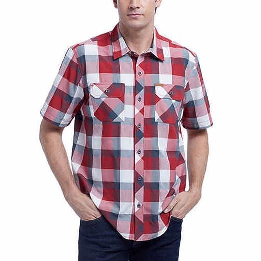 fb9c09272b Orvis Men s Short Sleeve Woven Tech Shirt at Amazon Men s Clothing store