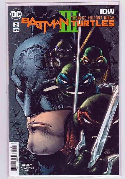 Amazon.com : Batman Teenage Mutant Ninja Turtles III #2 ...
