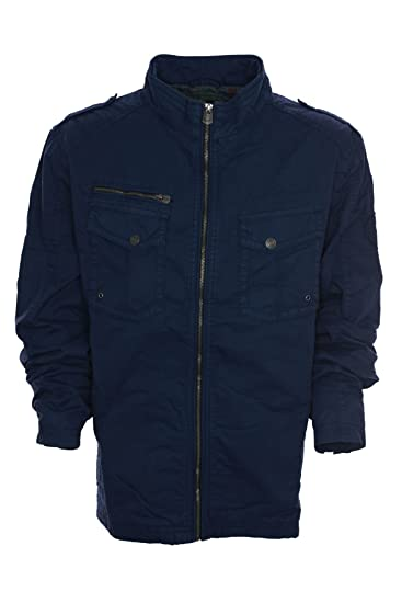 Rhode Island Outdoorjacke Jacke Anorak Herren,  Farbe dunkelblau Herrengrößen 3 XL  Amazon.de  Bekleidung ec146a9ee0