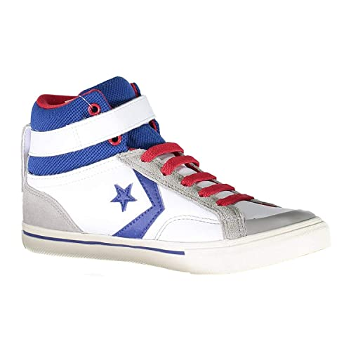 58de88025b717 CONVERSE All Star HI 655095C SNEAKERS PRO BLAZE STRAP WHITE BLUE   Amazon.it  Scarpe e borse