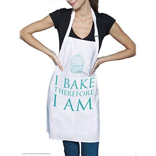 I bake therefore I am Apron