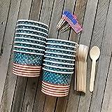 Patriotic Ice Cream Sundae Kit- 12 Ounce American