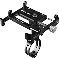 GUB Bicycle & Motorcycle Phone Mount, Aluminum Alloy Bike Phone Holder with 360° Rotation for iPhone 11 12 Pro Max Mini…