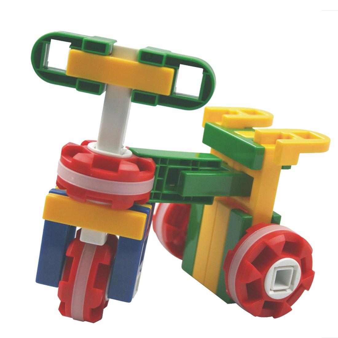 儿童益智力乐高积木拼装玩具车船飞机塑料拼插大颗粒