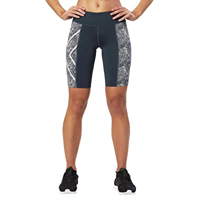 2XU Women's Ptn Mid-Rise Compression Shorts