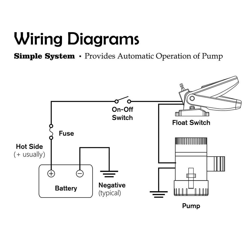 Hompat Automatic Boat Float Switchboat Bilge Pump Switch Wiring Diagram 12v 24v 32v