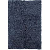 Cheap New Flokati Rug Denim Blue/2'4″ x 4'8″