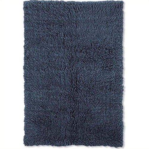 New Flokati Rug Denim Blue/2'4