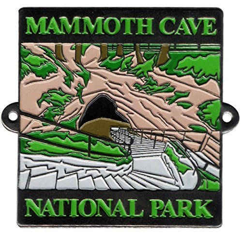 Mammoth Cave National Park Hiking Stick Medallion