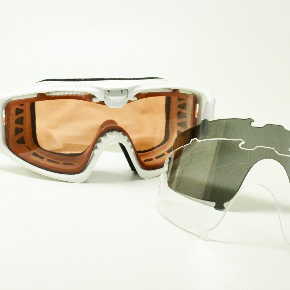 ESS イーエスエス INFLUX インフラックス EE-7018-11 マットホワイト/クリア/スモークグレー/アルペングロー メガネ 眼鏡 めがね メンズ レディース おしゃれ ブランド 人気 フレーム 流行り レンズ サングラス   B07DZZK6NK