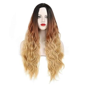 Blonde Perruque Femme Naturelle Brésilien