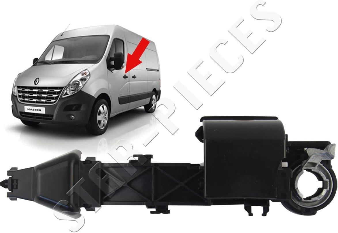Mecanismo de maneta de puerta delantera izquierda conductor o puerta lateral derecha para Master III, Movano B, NV400: Amazon.es: Coche y moto