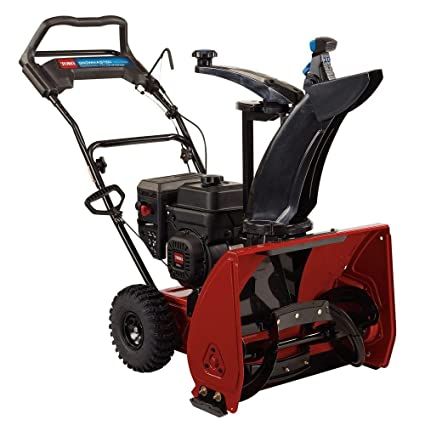 Amazon.com: Toro 24 en. snowmaster single-stage Gas soplador ...