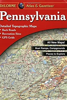 product image for Pennsylvania Atlas and Gazetteer