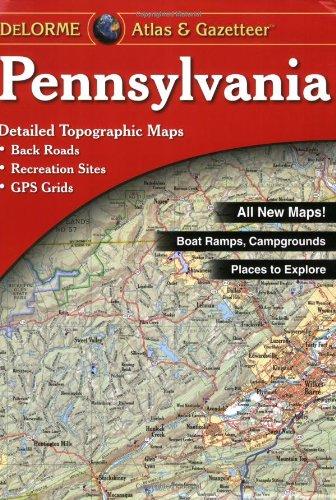 Read Online Pennsylvania Atlas and Gazetteer PDF
