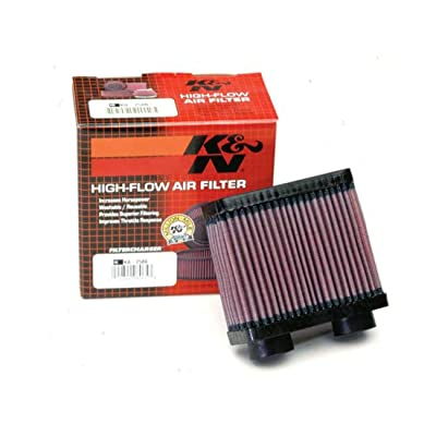 K&N Engine Air Filter: High Performance, Premium, Powersport Air Filter: 1986-2007 KAWASAKI (EX250R Ninja) KA-2586: Automotive