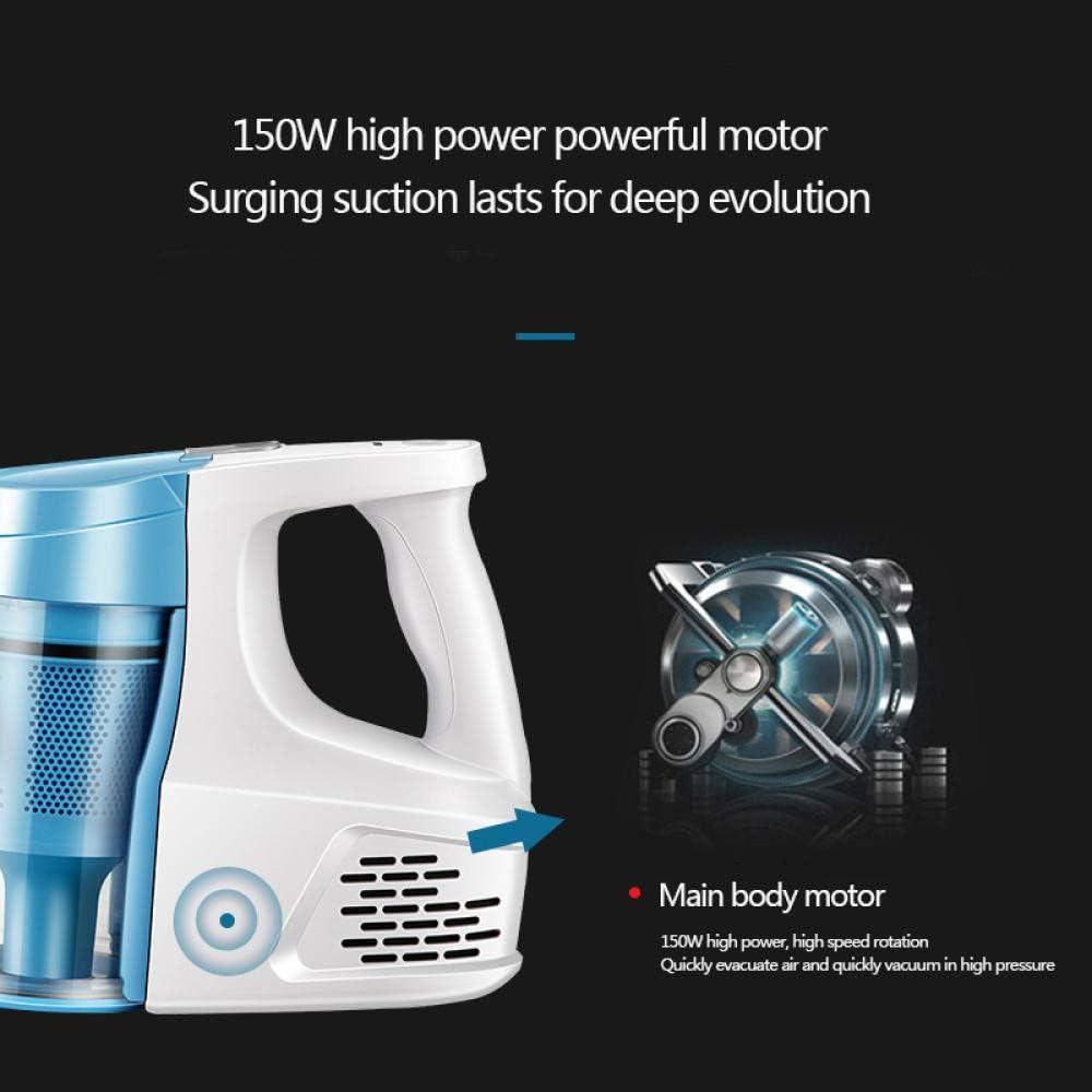 SZZ0306 Aspirateur Balai sans Aspirateurs de Moteur sans Brosse Vitesse de Mode Wireless Vibrant Blue