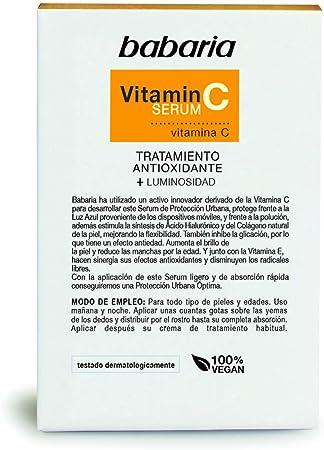 Babaria Serum Vitamina C Antioxidante Luminosidad 30 ml