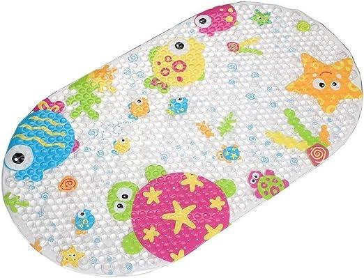 Colorful Duck Top-Spring infantil antideslizante succi/ón alfombra de ba/ño de PVC, Big Duck