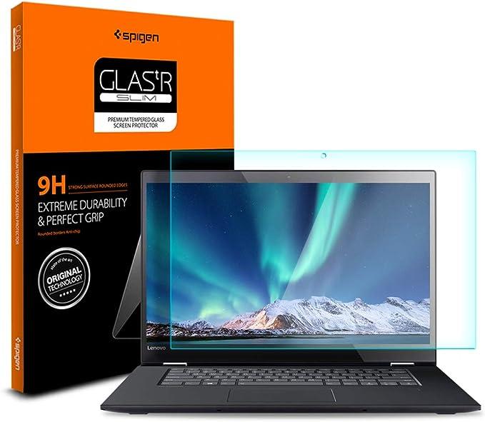 AirGlass Dureza Extrema BROTECT Protector Pantalla Cristal Compatible con Lenovo IdeaPad Flex 5 14ARE05 Protector Pantalla Vidrio Anti-Huellas