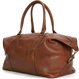 product image for Weekender Travel Overnight Duffel Bag Made With Full Grain Leather