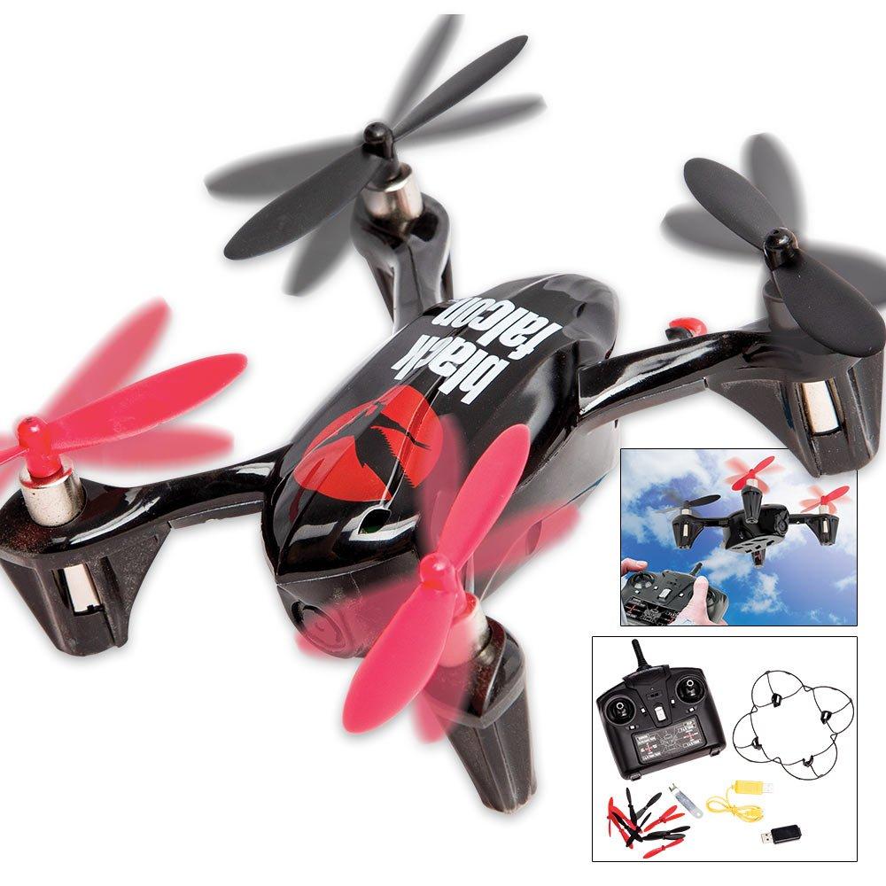 Jobar Black Falcon Spy Drone with Aerial-view Surveillance