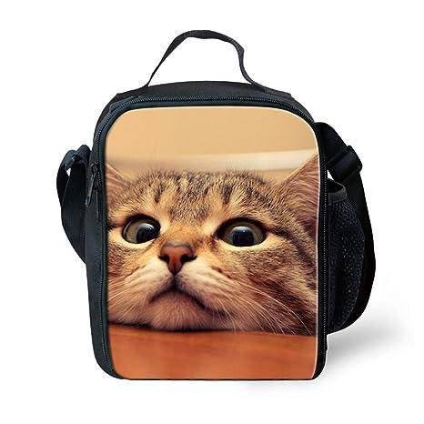 Amazon.com: coloranimal Cute Animal 3d Cat Impreso las ...