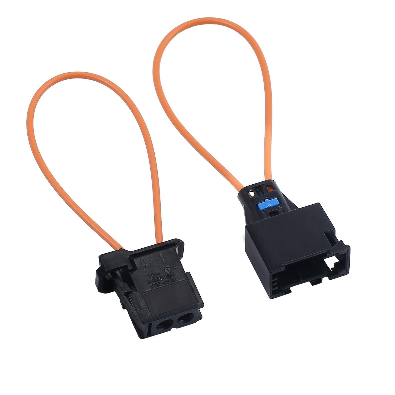 Adaptador de Cable /Óptico de Fibra /Óptica del Conector de Cable /Óptico de Derivaci/ón y Herramienta de Diagn/óstico de Adaptador macho para Autom/óvil