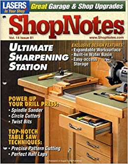 shopnotes may june 2005 volume 14 number 81 shopnotes amazon