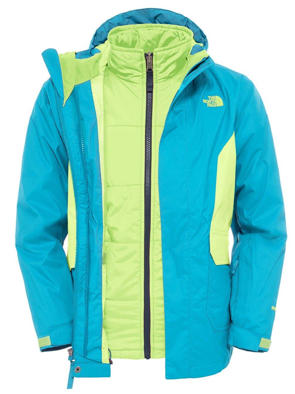 The North Face Boundary Triclimate Boys Ski Jacket - Large/Enamel Blue