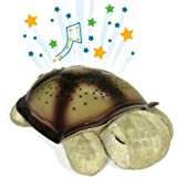 Cloud b Baby Boy's Twilight Turtle Classic Night Light Soother Medium Classic Mocha
