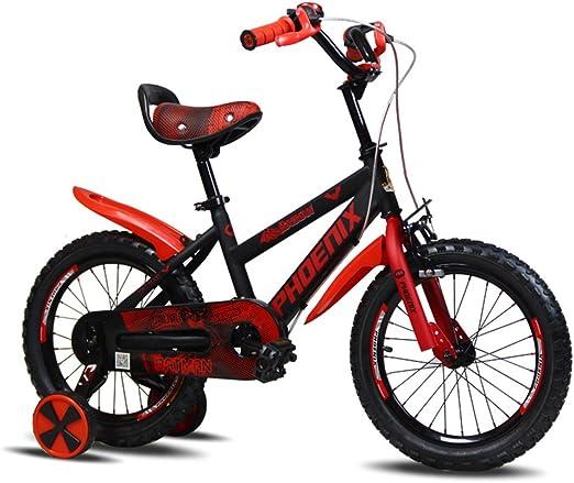 XQ TL-128 Rojo Bicicletas Para Niños 3-13 Años De Edad Chico Chica ...