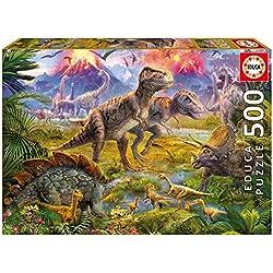 15969 Encuentro Dinosaurios Rompecabezas 500 Piezas Educa
