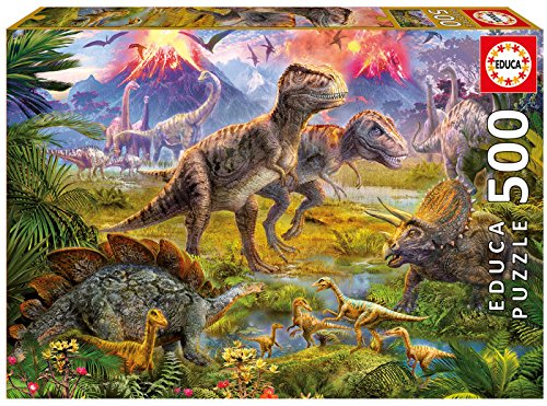 Educa Dinosaur Gathering Puzzle (500 Piece)