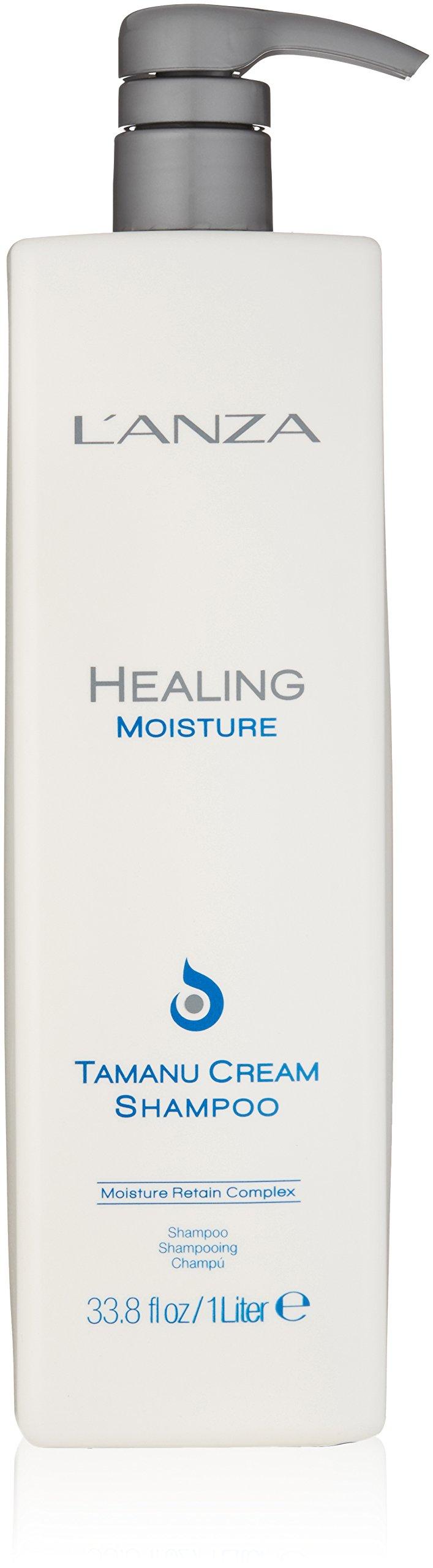 Lanza Healing Moisture Tamanu Cream Shampoo 33.8 oz