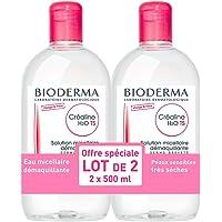 Solución micela Bioderma Crealine TS H2O 2 x 500 ml