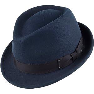 639854812 Bailey Hats Tino II Crushable Trilby - Brown Medium: Amazon.co.uk ...