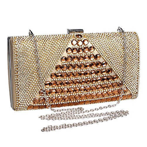 luxury Europe and KYS handbags evening United envelopes diamond bags gold hand Delicate banquet the States qwRxv